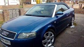 audi a4 convertible 1.8 i sport with extras