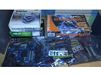 Job Lot of PC Components , Cases, Boards, CPU's etc