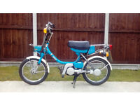 Yamaha QT50 50cc Two-Stroke Shaft-Driven Moped
