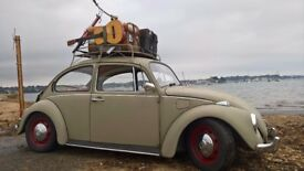 Classic VW Beetle with good M.O.T. Tax Free Lowered Major Major head turner. Tax Free 46 year old,