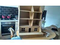 Dolls House Kit, part built, collectible