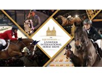 Liverpool International Horse Show Tickets x 2 - Dec 31st Show 1pm - Echo Arena