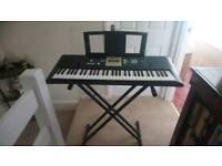 Yamaha electric keyboard boxed