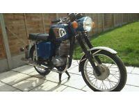 MZ TS 150 motorbike