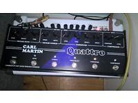 Carl Martin Quattro multi effects unit