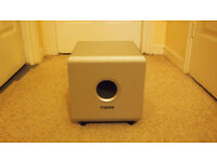 Compact home cinema subwoofer