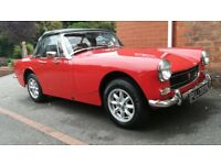 1974 MG Midget.full service history to date, Very good condition all round.Superb drive