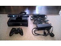 xbox 360 with kinect plus lots more
