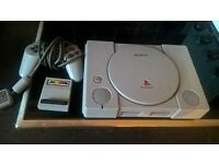 FOR SALE PLAYSTATION 1 FOR SALE £30 ONO GREAT CONDITION WITH CONTROLLER