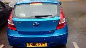 Hyundai I30 ,Low Mileage, Full service and 12 months MOT