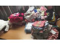 Wholesale job lot second hand used chidrens baby clothing UK market brands