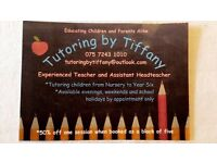 *Bespoke 1:1 Tutoring Sessions at Competitive Rates*