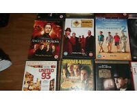 BUNDLE OF BLU RAY AND DVD FILMS