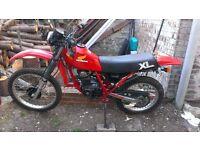Honda xl200r 1983