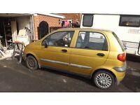 daewoo matise 5 door 1.1 new exhaust m.o.t feb 17 good runner nice small car