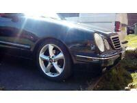 Mercedes-Benz, E CLASS, Saloon, 2002, Semi-Auto, 2155 (cc), 4 doors