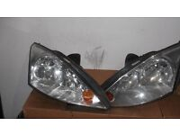 Ford focus front lights 2001