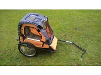 Childrens bike trailer