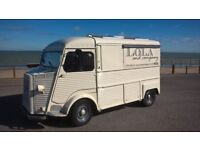 Citroen HY Catering Van, 1981, fitted out ready to go.