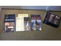 Collection of back issues of various classic boat magazines