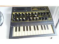 EDP WASP Synthesizer Analogue 70s Vintage Synth British Mono RARE!