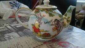 Limited edition signed tea pot