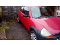 for sale ford ka spares repairs but read full ad or you wont get a reply.