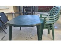 Patio garden Table and Chair set