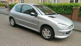 Peugeot 206 1.4 Quiksilver 3dr (a/c) 2003 (53 reg), Hatchback