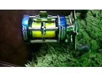 Multiplier fishing reel good condition Ron Thompson pioneer