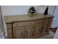 Beautiful dfs sideboard cost over £1000 new bargain.