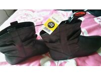 brand new black ankle boots size 7