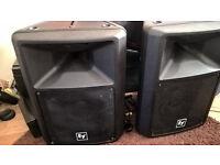 EV SX 100 + Lightweight speakers...