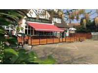 Bar staff required full and part time for pub in chingford E4