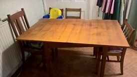 Foldable Kitchen Table