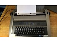 Typewriter, Electric, Panasonic Model KX-R191. Excellent working order with instruction book