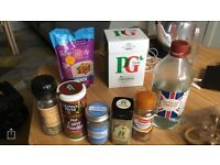 Free pantry and laundry products