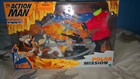 Action man polar mission from 90's new boxed