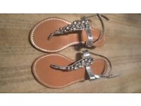 Next women's sandals, size 5, not used... (£10)