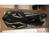 Motorcycle Leathers Arlen Ness 2 Piece Size 46 Medium/Large £180ono