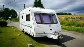 Sterling Eccles Diamond 2005 2 Berth Touring Caravan