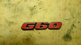 Golf jetta g60 rear badge