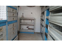 van metal racking system