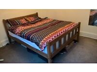 King Size Wooden Bed, Brand New (Unopened), Collection Only