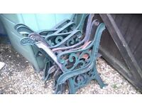 x12 cast iron bench ends (enough for 6 benches)