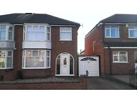 Spacious 3 Bedroom semi-detached house with great size garden