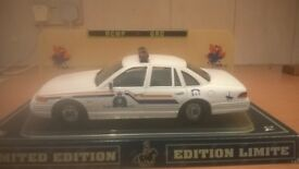 ROYAL CANADIAN MOUNTED POLICE CAR MADE BY FORD CERT FROM THE POLICE VERY RARE
