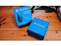Sony Playstation 7.1 Surround Bluetooth Wireless Gold Headset 2.0