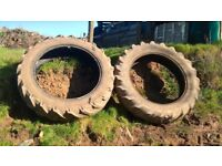 Two Back Tractor Tyres