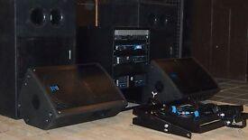 Yorkville FULL PA SYSTEM -Ex install, well maintained